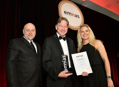Bright!Tax Named US Expat Tax Provider of the Year at Prestigious 2017 FEM EMMA Awards Greg Dewald Collects the Award