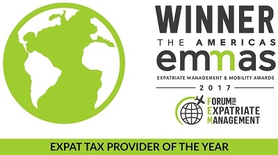 Bright!Tax Named US Expat Tax Provider of the Year at Prestigious 2017 FEM EMMA Awards