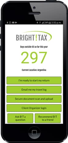 IRS Tax Services for US Expats | Mobile App | Bright!Tax Expat Tax