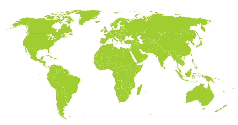 Bright!Tax proudly serves<br /> American clients in over 190<br /> countries